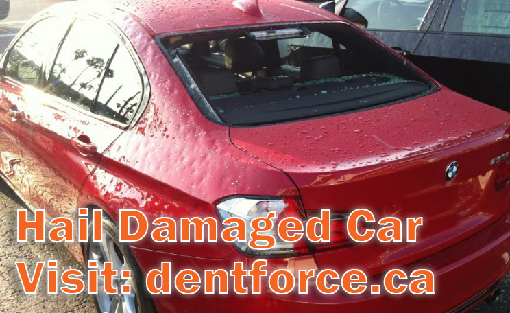 What Is The Auto Hail Damage Repair Process Dent Force